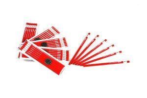 三菱鉛筆 石材用赤鉛筆